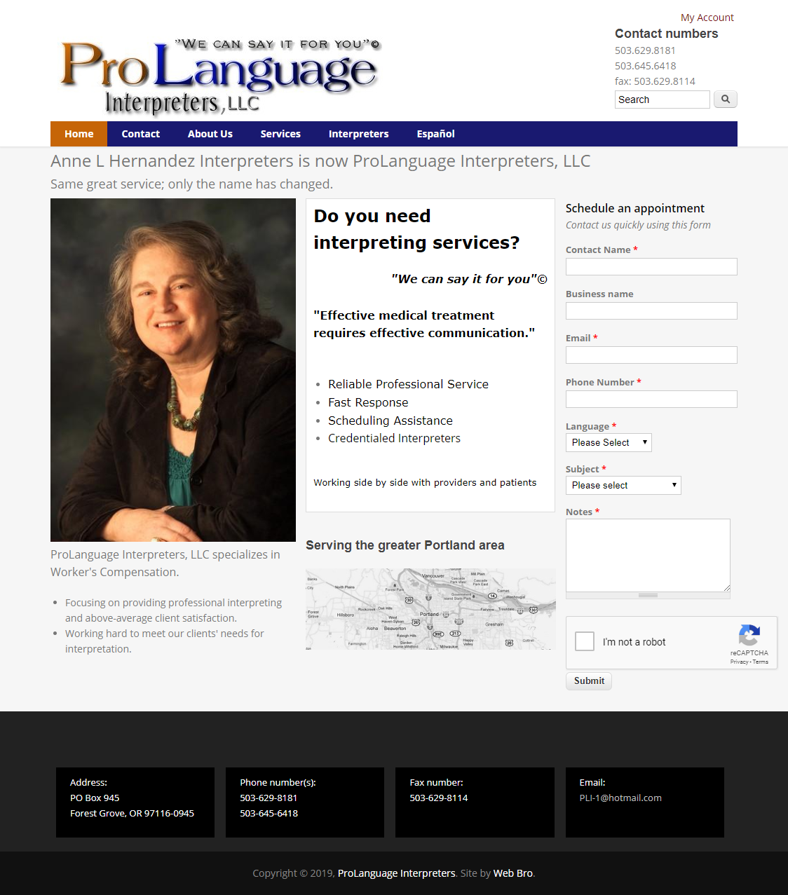 ProLanguage Interpreters screenshot