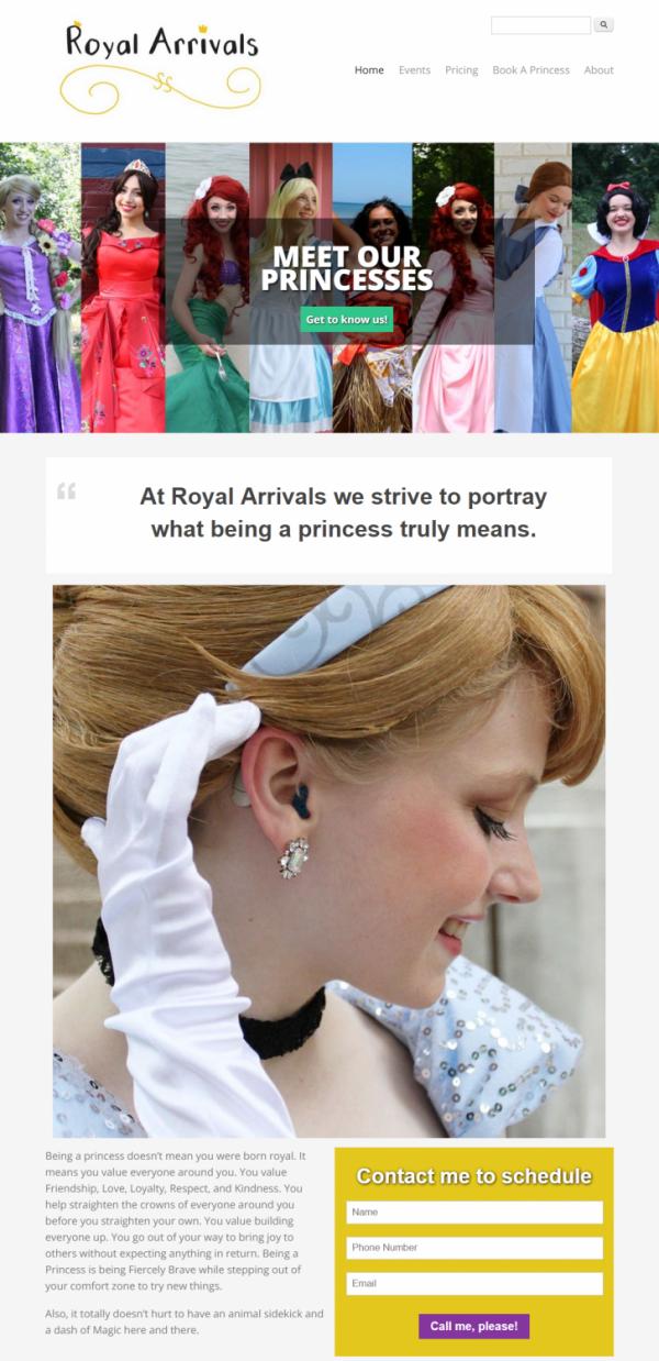 Royal Arrivals